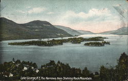 The Narrows from Shelving Rock Mountain Postcard