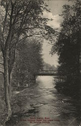 Brook Between Upper and Lower Lake, Mount Holyoke College