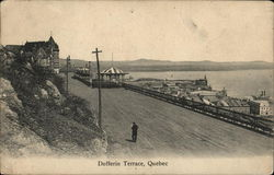 Dufferin Terrace Postcard