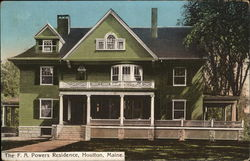 F. A. Powers Residence