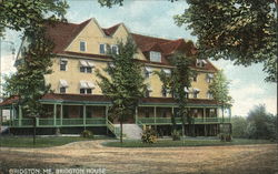 Bridgton House Postcard