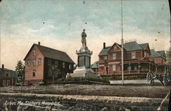 Soldier's Monument Postcard