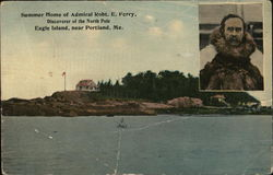 Summer Home of Admiral Robt. E. Perry, Discoverer of North Pole