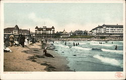 Bathing Beach and Hotels
