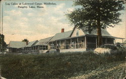 Log Cabins at Lakewood Camps, Middledam, Rangely Lakes