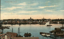 View of Town in 1890