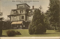 Mrs. George C. Robinson's Residence