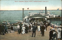 Boat Landing, Rocky Point, Narrgansett Bay
