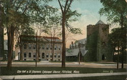 City Hall and St. Stephens Episcopal Church