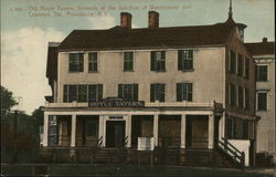 Old Hoyle Tavern at Junction of Westminster and Cranston Streets