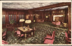 Gentlemens Lounge and Library, Hotel Statler