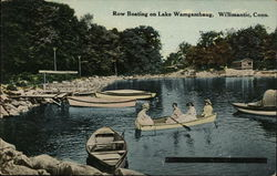 Row Boating on Lake Wamgambaug