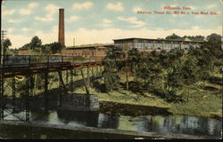 American Thread Company, Mill No. 4 from West Side