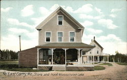 Store and Hotel Moosehead Lake
