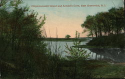 Chipewanoxett Island and Arnold's Cove Postcard