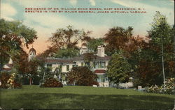 Residence of Dr. William Shaw Brown Postcard