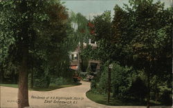 Residence of H. R. Nightingale, Main Street