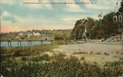 Chepiwanoxet Looking Toward East Greenwich Postcard
