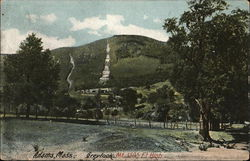 Greylock Mt. 3505 Ft. High Postcard