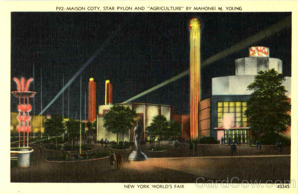 Maison Coty 1939 NY World's Fair