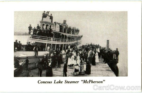 Conesus Lake Steamer McPherson Steamers