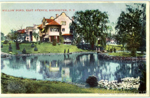 Willow Pond , East Avenue Rochester New York
