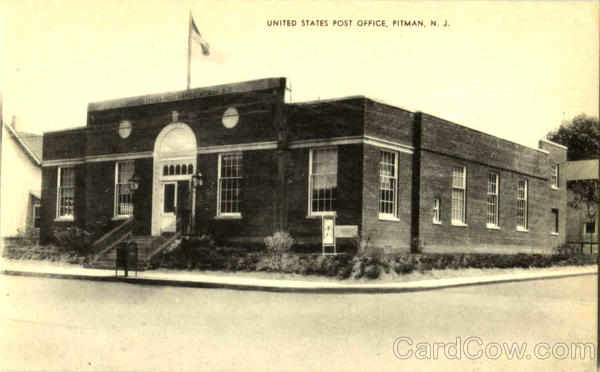 United States Post Office Pitman New Jersey