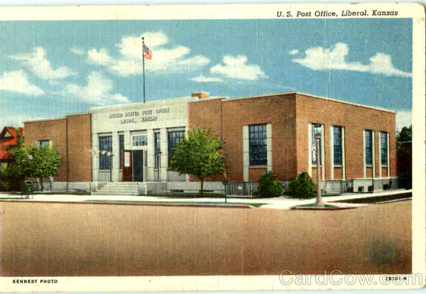 U. S. Post Office Liberal Kansas