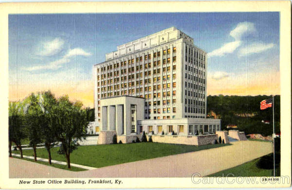 New State Office Building Frankfort Kentucky
