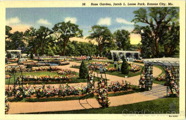 Rose Garden Jacob L Loose Park Kansas City Mo