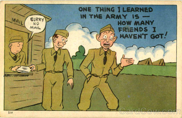 One Thing I Learned In The Army Is Comic