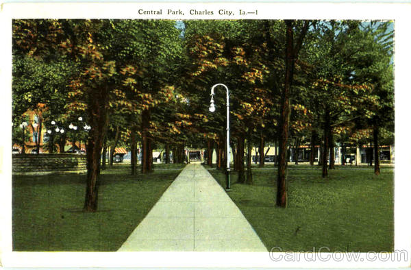 Central Park Charles City Iowa