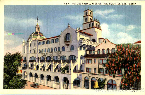 Rotunda Wing Mission Inn Riverside California