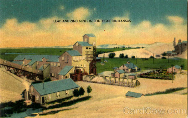 Lead And Zinc Mines In Southeastern Kansas Scenic Mining