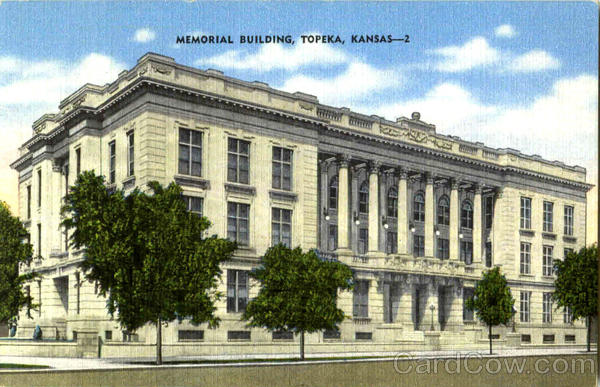 Memorial Building Topeka Kansas