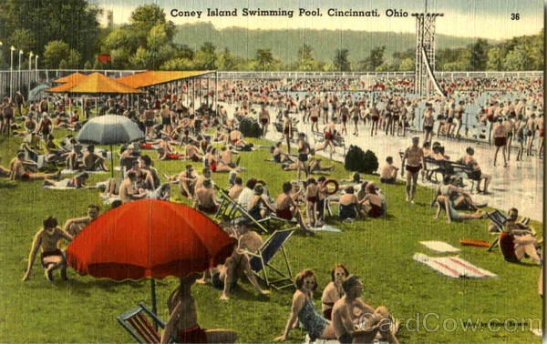 Coney Island Swimming Pool Cincinnati Ohio