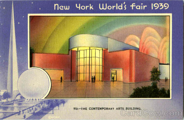The Contemporary Arts Building 1939 NY World's Fair