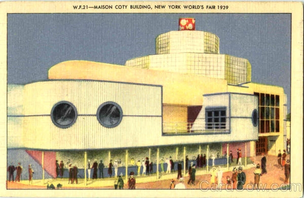 Maison Coty Building 1939 NY World's Fair