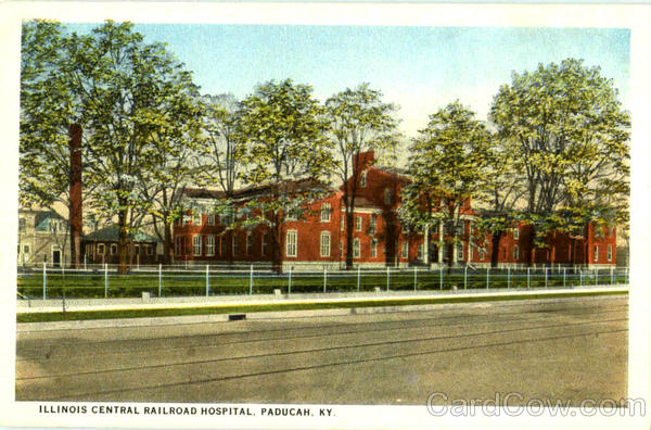 Illinois Central Railroad Hospital Paducah Kentucky