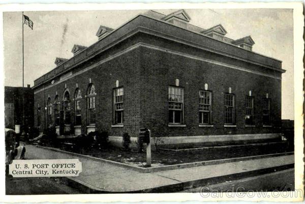 U. S. Post Office Central City Kentucky