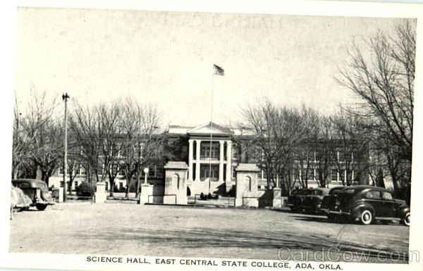 Science Hall, East Central State College Ada Oklahoma