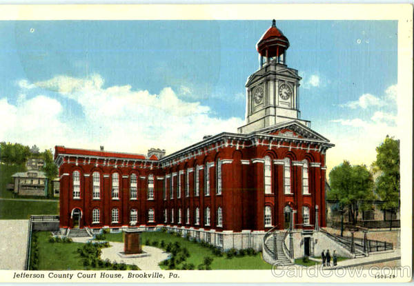 Jefferson County Court House Brookville Pennsylvania