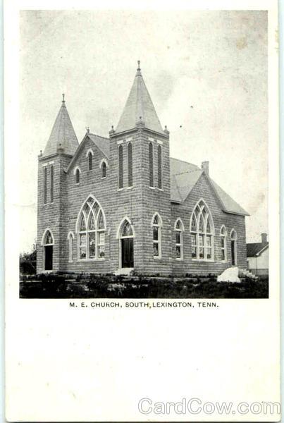 M. E. Church Lexington Tennessee