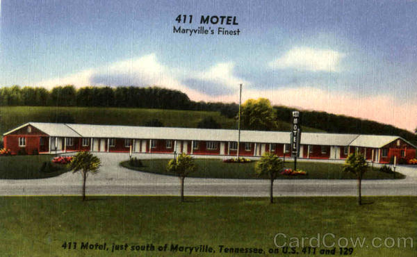 411 Motel Marysville Tennessee