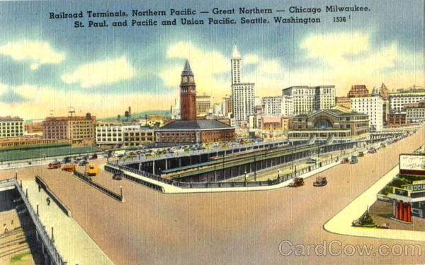 Railroad Terminals Great Northern Pacific Depots