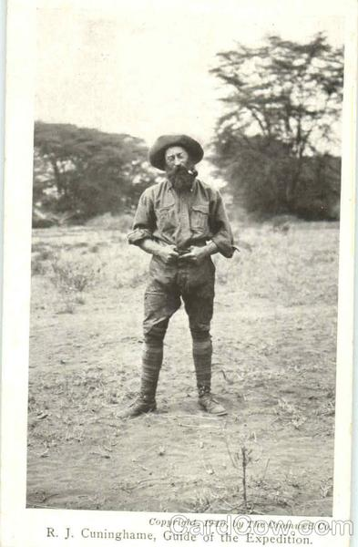 Roosevelt In Africa R. J. Cuninghame Guide Of The Expedition