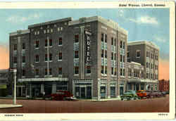 Hotel Warren Postcard
