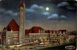Union Station At Night