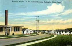 Housing Project Of The Federal Housing Authority