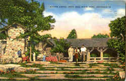 Mather Lodge, Petit Jean State Park Postcard